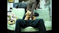 Asian Homemade - Newly married couple having fuck in sofa