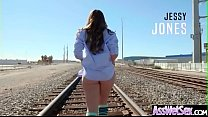 Gorgeous Girl (Remy LaCroix) With Oiled Big But...