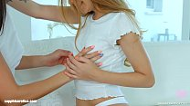 Stacy Snake and Lana Bell in Lesbian tryout lesbian scene by SapphiX