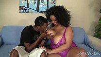 Big boobed black girl Bettie Blac fucked good Thumbnail