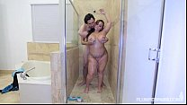 y bang gets her ass pounded in the shower