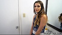 Eurobabe Rayna Rose fucked in the toilet thumb