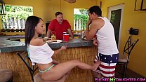 Tight ass Holly Hendrix destroyed by a huge cock Thumbnail