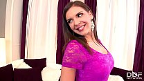 Russian College babe bangs her classmate on 1st date