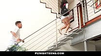 punishteens   naughty rachael madori gets punished and gagged by stepfather