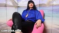 Camster - Dirty Talk with Cam Model Elena