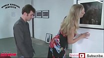 Art Gallery in StepMother Seduce Her StepSon - ...