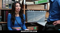 ShopLyfter - Brunette Teen Strip Searched & Fucked Thumbnail