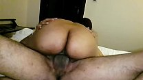 Sexy ass Indian wife riding bull