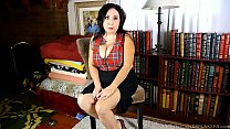 Dirty talking old spunker talks nasty about her first time with a girl