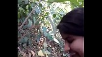 Desi girl very nice sucking n fucking in forest... - Indian Porn