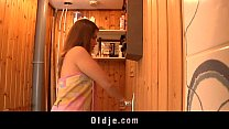 hot oldyoung fucking in the sauna