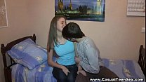 Casual Teen Sex - Dreams come true and he fucks this cutie