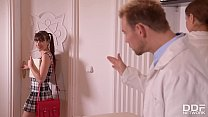 Kinky Doctor & Nurse Tina Kay DP Teen patient L...