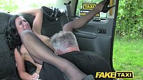 Fake Taxi Sex mad MILF loves to ride cock in Lo... />