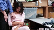 Pretty Shoplifter Kat Arina Giving Head and Pounded