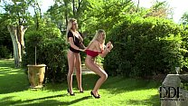 Mistress Lexi Gives Sexy Sub Danielle May A Ser...