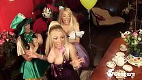 A Cum Swapping Orgy Breaks Out At A Tea Party I...