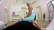 pov titjob with busty stewardess Krystal Swift