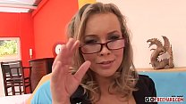 hd fuck hardcore glasses and stockings in blonde Horny