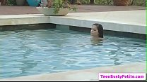 Poolside Breast Stroke with Annika Eve part-01 ...