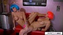 and jessica jaymes lesbian duo going off