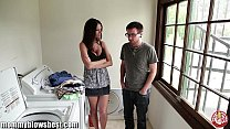 jennifer dark is offering a bj for a young boy …
