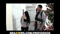 Bad chick Tiffany T fucks the school janitor in...