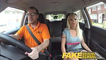 facial huge a with pass her earns barbie school driving Fake