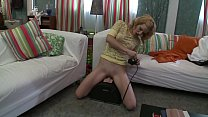 Ally Ann Rides The Sybian Then Rides A Cock In A Hardcore Scene