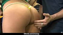 Stunning Euro Teen Gets Talked In To Giving A B...