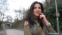 Public Agent Outdoor orgasms for Serbian beauty thumb
