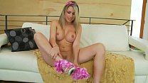 Awesome blonde fucked very hard