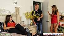 Hot chicks Ella Milano and Yurizan Beltran gets...