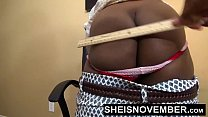HD Black Secretary Gets Ass Spanking From Kinky...