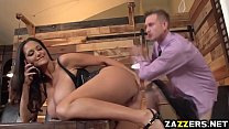 Ava Addams got her anal drilled so deep by Bill Bailey