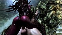 KERRIGAN BREEDS WITH HER LUCKY SLAVE 3D SKYRIM ... Thumbnail
