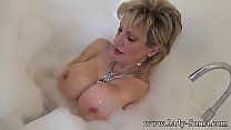 Sonia wants you to cum on her tits while she ta...