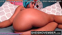 BIG BUTT SLUT MSNOVEMBER FUCKING YOU HARD ON WE...
