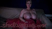 bbw big boob blonde in a pink tutu part 2