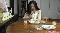 JAV Uncensored with english subtitle: Mom gives...