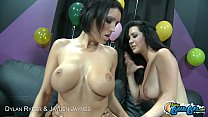 Bubble assed Dylan Ryder and Jayden Jaymes in t...