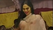 Hot wet topless dancer in bhojpuri arkestra sta...