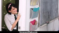 InnocentHigh - Cutie Fucked Both Her Teachers
