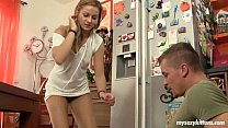 Blonde teen Anna gets nailed