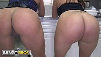 BANGBROS - Big Booty Latina Lesbian 3way with Becca Diamond & Vanessa Luna