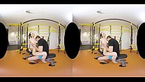 belle claire s gym vr anal video
