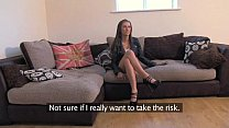 FakeAgentUK Fresh hot girl introduced to anal o...