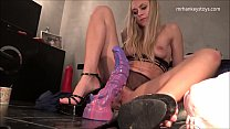 Download video bokep Riding The ONI The  NEWEST Dildo From mrhankeys... 3gp terbaru