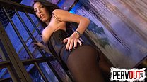 Dava Foxx locks you up FEMDOM CHASTITY PANTYHOS...